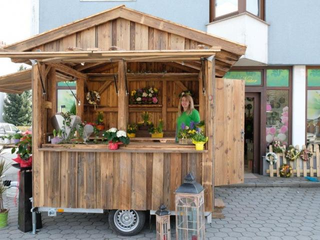 Altholz mobiler Blumenladen